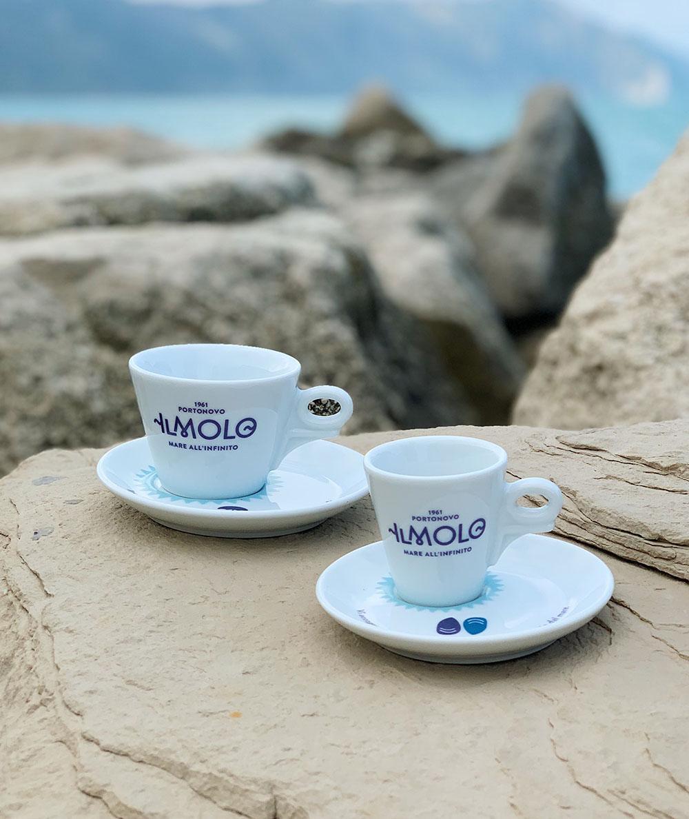 Tazzina da caffè bianca Il Molo