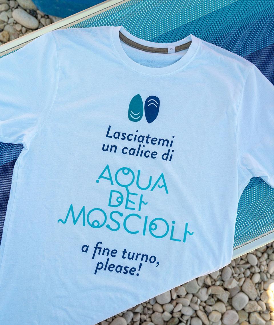 T-shirt - Aqua dei Moscioli