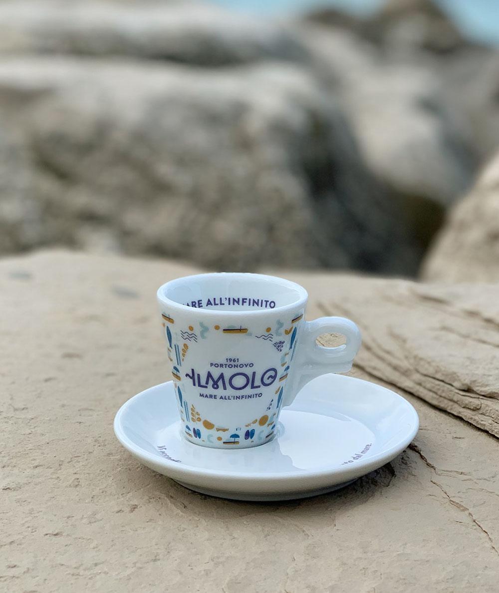 Tazzina da caffè texture Il Molo