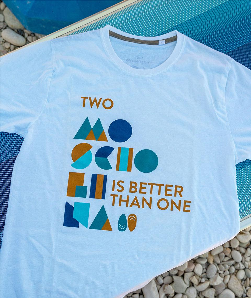 T-shirt - Two Mosciolina is better than one
